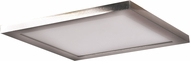 Access 20815LEDD-BS-ACR Boxer Modern Brushed Steel LED 9.5  Overhead Lighting
