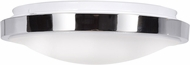 Access 20817LEDD-CH-ACR Lucid Modern Chrome LED Small Ceiling Light Fixture