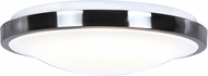 Access 20819LEDD-CH-ACR Lucid Modern Chrome LED Large Flush Mount Lighting