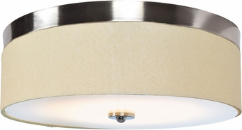 Access 20820LEDD-BS-ACR Mia Contemporary Brushed Steel LED 16  Overhead Lighting