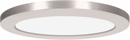 Access 20832LEDD-BS-ACR ModPLUS Contemporary Brushed Steel LED 12 Round Flush Mount Light Fixture