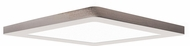 Access 20840LEDD-BS-ACR ModPLUS Contemporary Brushed Steel LED 8.5 Square Flush Mount Ceiling Light Fixture