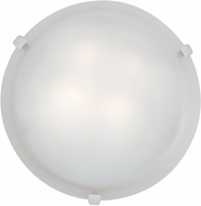 Access 23020LED-WH-WH Mona White & White Glass LED Overhead Lighting Fixture