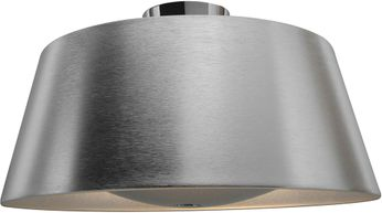 Access 23764-BSL SoHo Contemporary Brushed Silver Flush Mount Ceiling Light Fixture