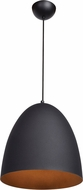 Access 23776LEDDLP-MBL-MGL Nostalgia Contemporary Matte Black LED Hanging Light