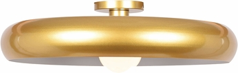 Access 23881LEDDLP-GLD-WHT Bistro Contemporary Gold and White LED 24  Overhead Lighting Fixture
