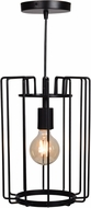 Access 23891LEDDLP-BL Wired Modern Black LED Mini Hanging Light Fixture