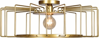 Access 23892LEDDLP-GLD Wired Contemporary Gold LED Ceiling Lighting Fixture