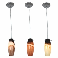 Access 28024 Sydney Cabernet Contemporary 12  Tall Pendant Hanging Light