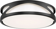 Access 49990LEDD-BL-ACR Lucia Contemporary Black LED 14  Ceiling Lighting