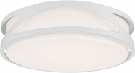 Access 49990LEDD-WH-ACR Lucia Contemporary White LED 14  Ceiling Light Fixture