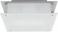 Access 50030LEDD-BS-FST Vision Contemporary Brushed Steel LED 9.5  Ceiling Lighting Fixture