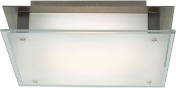 Access 50031-BS-FST Vision Contemporary Brushed Steel Halogen 12 Ceiling Light Fixture