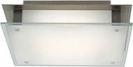 Access 50031LEDD-BS-FST Vision Modern Brushed Steel LED 12  Flush Lighting