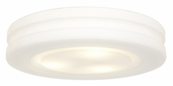 Access 50187-WH/OPL Altum�White Ceiling Mount 12 Inch Diameter Medium Ceiling Light Fixture