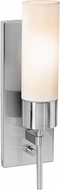 Access 50562-BS-OPL Iron Contemporary Brushed Steel Wall Mounted Lamp