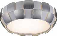 Access 50901-WH-CH Layers Contemporary Chrome & White Acrylic Fluorescent Ceiling Light Fixture