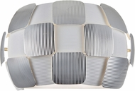 Access 50907-WH-CH Layers Contemporary Chrome & White Acrylic Wall Lamp