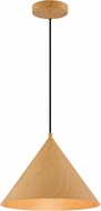 Access 52056LEDDLP-WGN Timber Contemporary Wood Grain LED Pendant Lamp