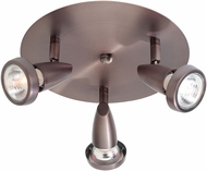 Access 52221-BRZ Mirage Contemporary Bronze Halogen Flush Mount Light Fixture