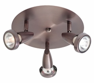Access 52221 New Mirage Modern 3-Spotlight Flush-Mount Cluster