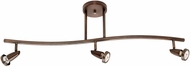 Access 52223LEDDLP-BRZ Mirage Contemporary Bronze LED 3-Light Track Light
