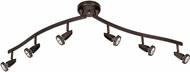 Access 52226-BRZ Mirage Contemporary Bronze Halogen 6-Light Home Track Lighting