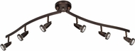 Access 52226LEDDLP-BRZ Mirage Contemporary Bronze LED Track Lighting Fixture