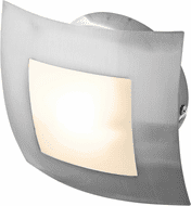 Access 53342-BS/OPL Argon Contemporary Brushed Steel Light Sconce