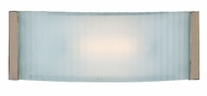 Access 62041-BS Helium 12 inch Single Light Wide Halogen Wall Sconce