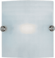 Access 62054-BS/CKF Radon Contemporary Brushed Steel Lighting Wall Sconce