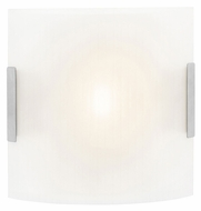 Access 62232 Neon�Line Frosted Glass 16 Inch Tall Square Wall Light