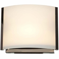 Access 62291-BS-OPL Nitro 2 Contemporary Brushed Steel Finish 6.9 Wide Lighting Wall Sconce