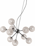 Access 62326-CH-CLR Opulence Contemporary Chrome Halogen Chandelier Light