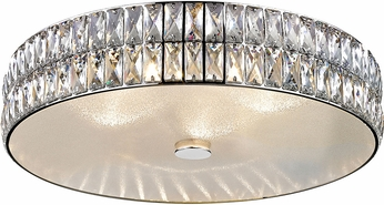 Access 62356LEDD-MSS-CRY Magari Mirrored Stainless Steel LED Medium Ceiling Light Fixture