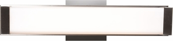 Access 62480LEDD-CH-OPL Fjord Contemporary Chrome LED 15  Bathroom Light Fixture