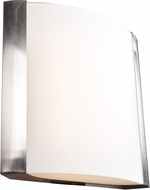 Access 62486LEDD-BS-OPL West End Contemporary Brushed Steel LED Large Wall Lighting Sconce