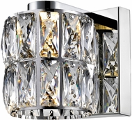 Access 62551LEDD-MSS-CCL Ice Mirrored Stainless Steel LED Sconce Lighting