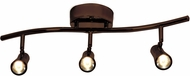 Access 63066LEDD-BRZ Sleek Contemporary Bronze LED 3-Light Track Light