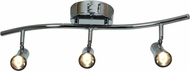 Access 63066LEDD-BS Sleek Modern Brushed Steel LED 3-Light Track Lighting Fixture