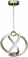 Access 63110LEDD-IGLD Vortex Modern Inspired Gold LED 14  Ceiling Pendant Light