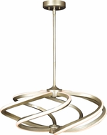 Access 63111LEDD-IGLD Vortex Modern Inspired Gold LED 27.5  Drop Lighting Fixture