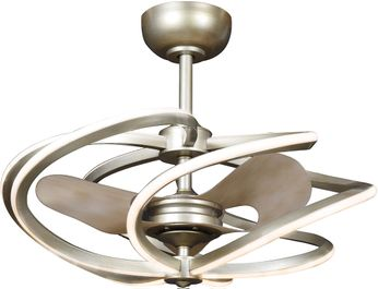 Access 63113LEDD-IGLD Vortex Contemporary Inspired Gold LED 27.5 Home Ceiling Fan