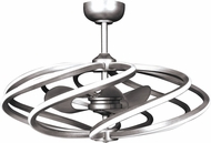 Access 63114LEDD-BS Vortex Contemporary Brushed Steel LED 33  Ceiling Fan