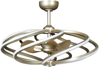 Access 63114LEDD-IGLD Vortex Contemporary Inspired Gold LED 33 Home Ceiling Fan