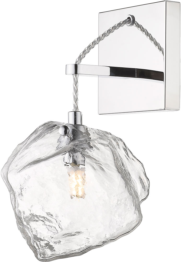 Access 63129leddlp Mss Clr Boulder Modern Mirrored Stainless Steel Led Wall Lighting Fixture Acc