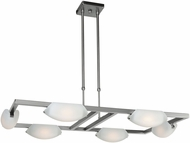 Access 63962LEDD-MC-FST Nido Modern Matte Chrome LED Kitchen Island Lighting