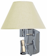Access 70017LED-CH/CRM Cyprus Chrome Fluorescent Wall Mounted Lamp