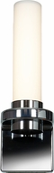 Access 70039LEDD-CH-OPL Chic Contemporary Chrome & Opal Glass LED Lighting Wall Sconce
