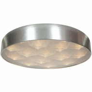 Access 70082LEDD-BSL-ACR Meteor Contemporary Brushed Silver Finish 23  Wide LED Overhead Light Fixture